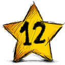 12 stars