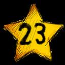 23 stars