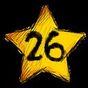 26 stars