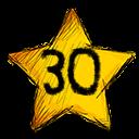 30 stars